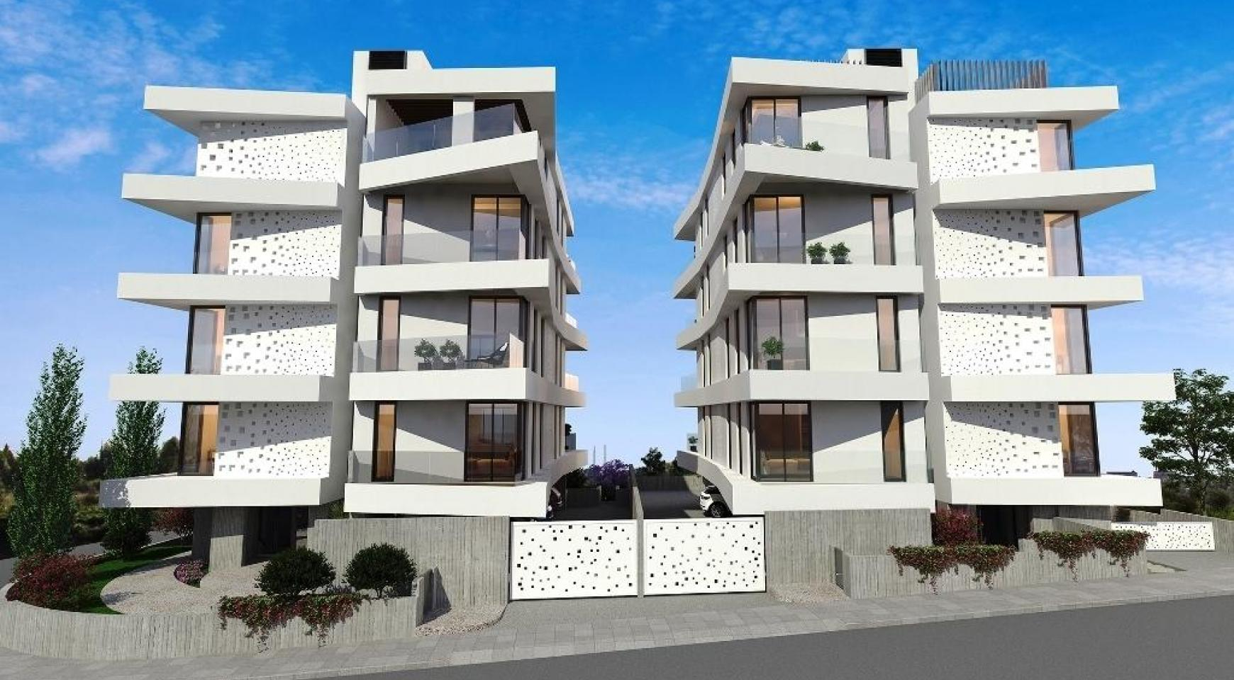 New 3 Bedroom Penthouse in a Contemporary Complex in Germasogeia - 7