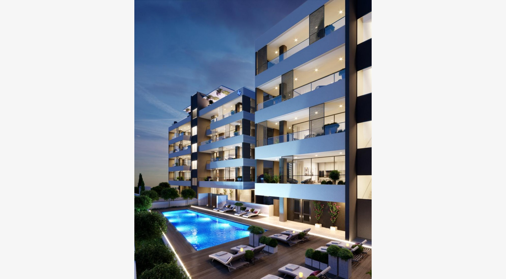 Luxury 2 Bedroom Apartment in a New Complex in Potamos Germasogeia - 3
