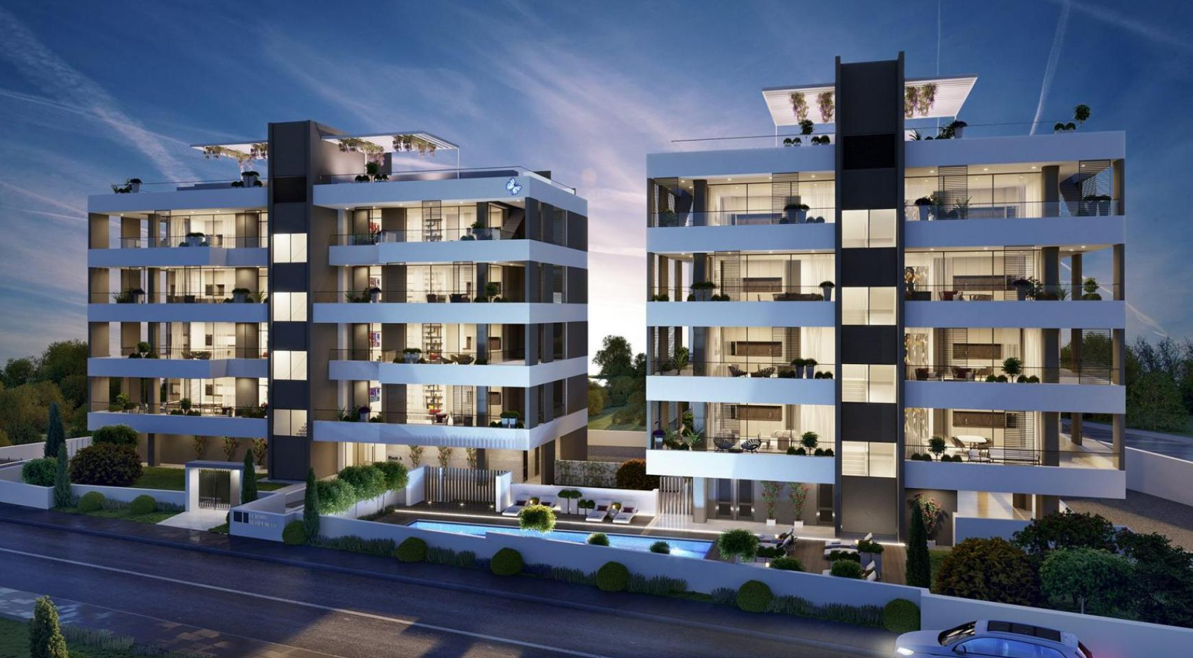 Luxury 3 Bedroom Apartment in a New Complex in Potamos Germasogeia - 1
