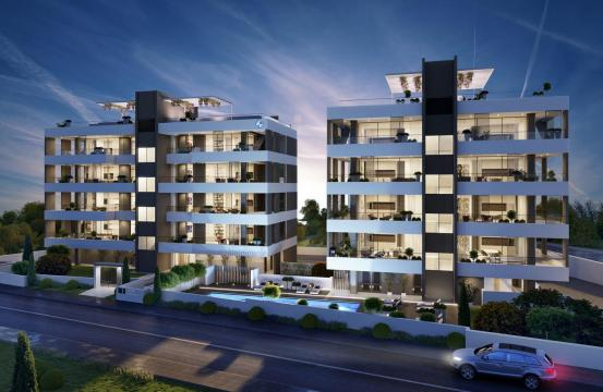 Luxury 3 Bedroom Apartment in a New Complex in Potamos Germasogeia