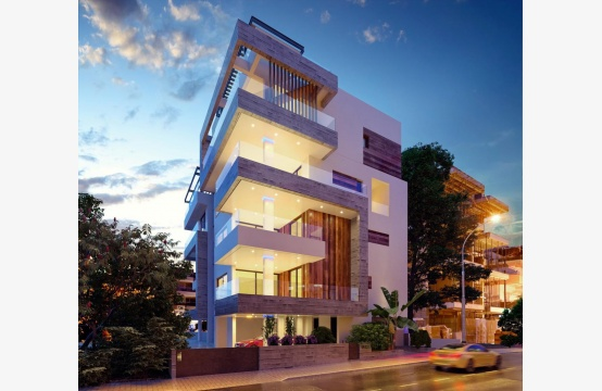 New 3 Bedroom Apartment in a Contemporary Building near the Sea