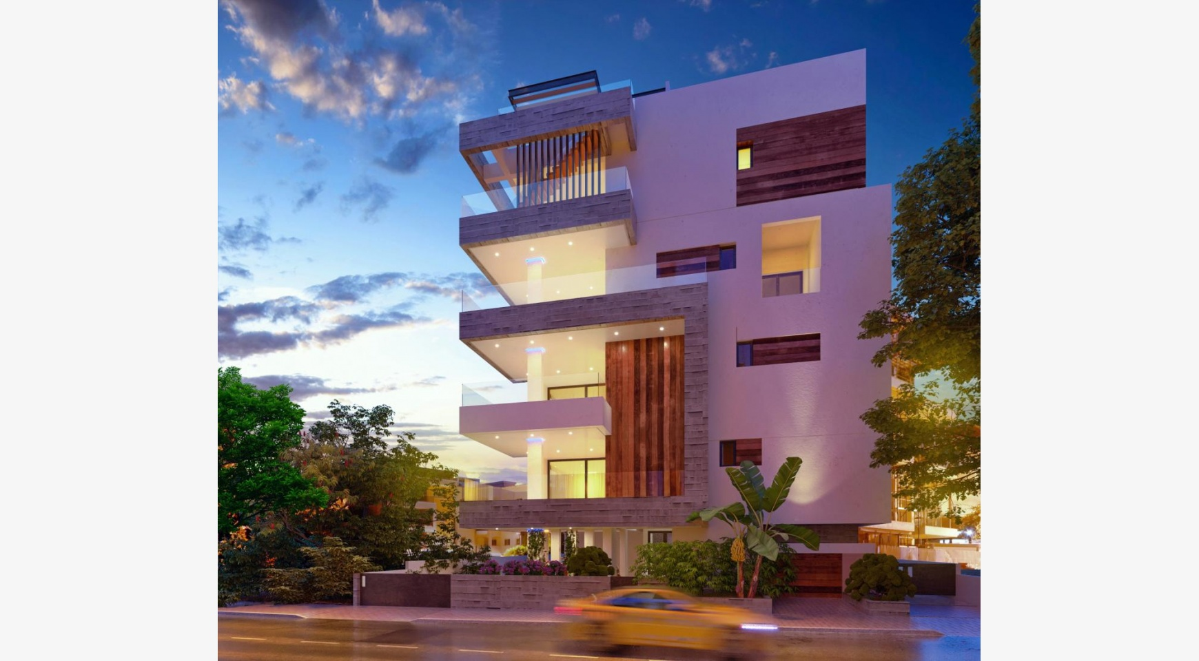 3 Bedroom Penthouse with a Private Pool in a New Contemporary Building near the Sea - 2