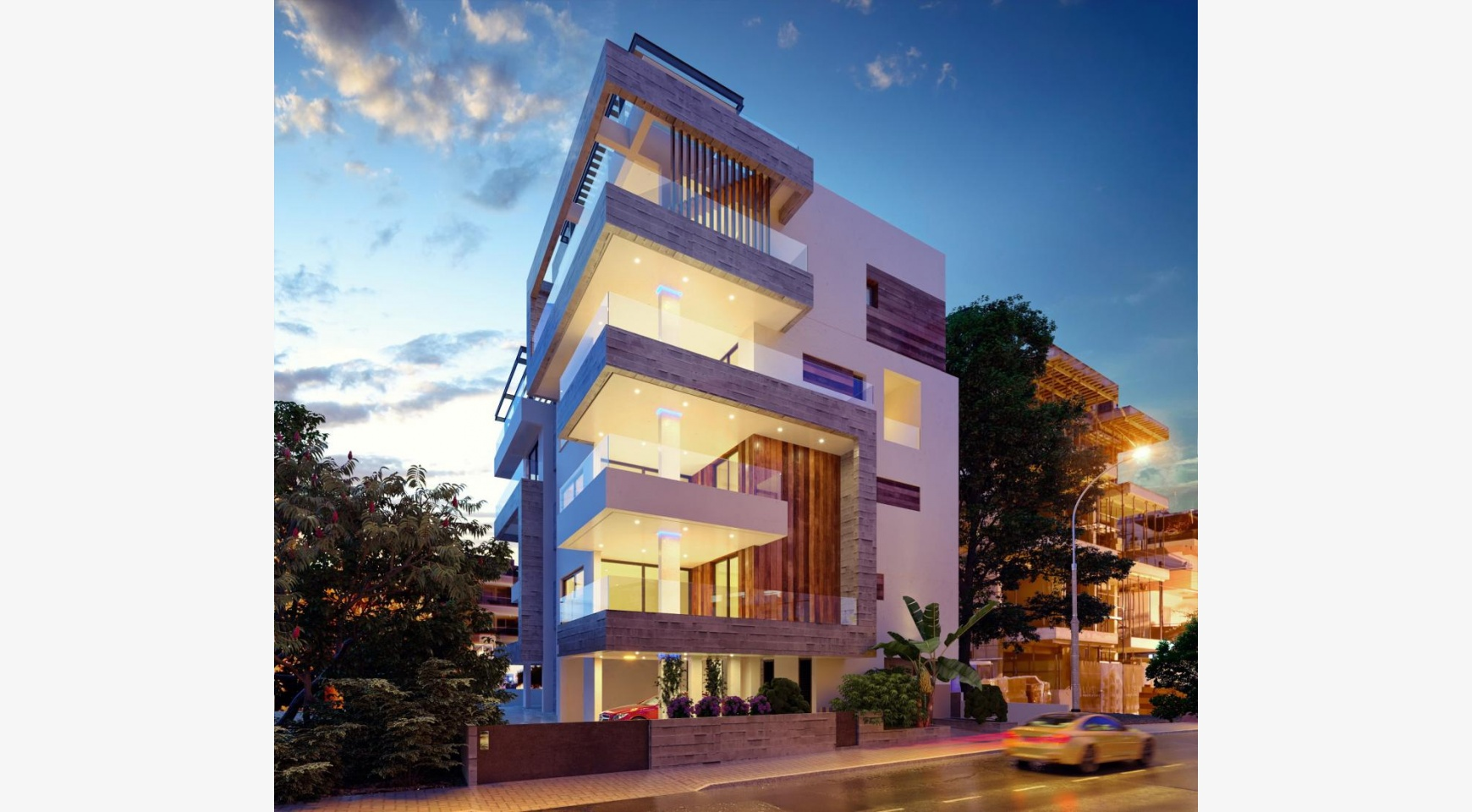 3 Bedroom Penthouse with a Private Pool in a New Contemporary Building near the Sea - 1