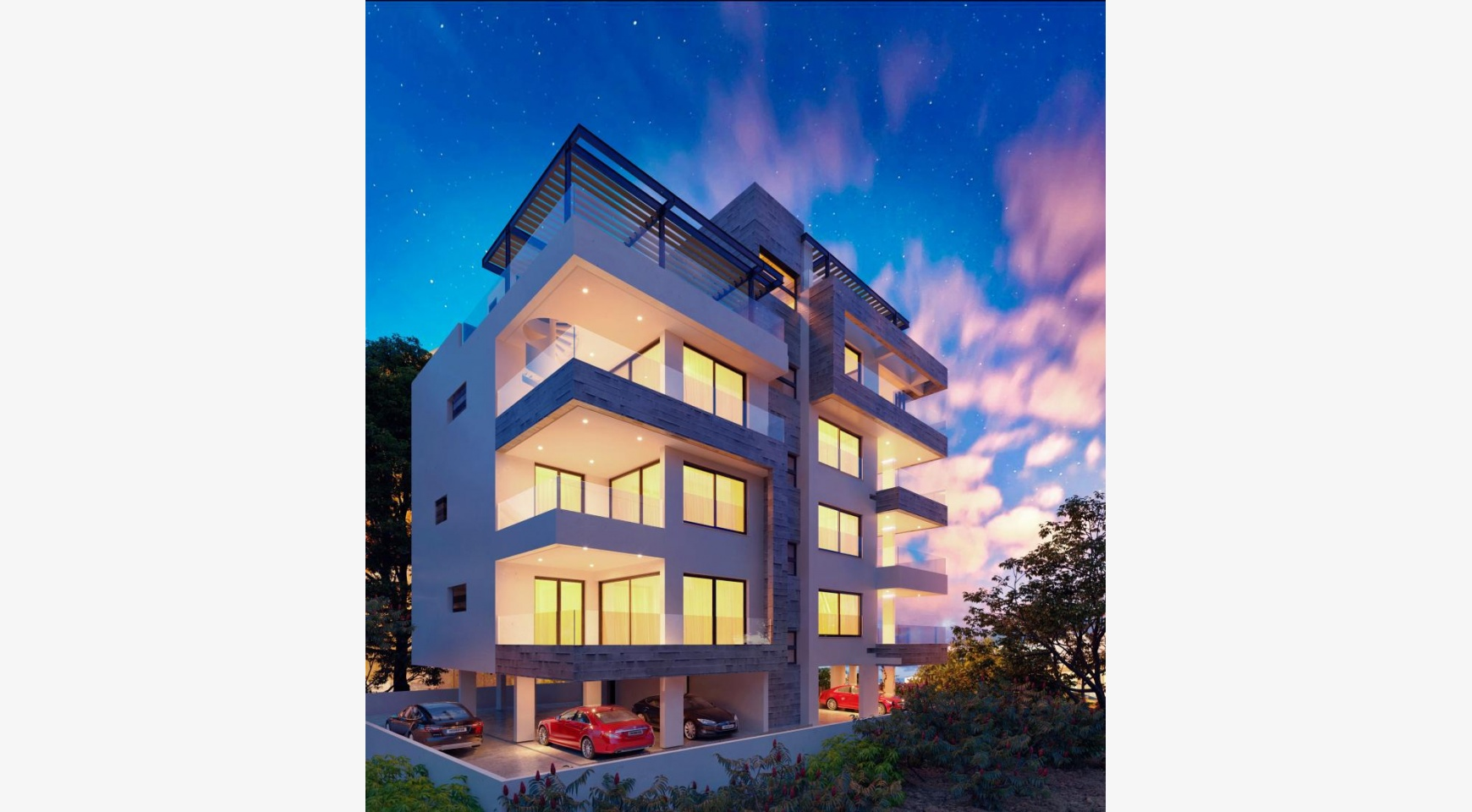 3 Bedroom Penthouse with a Private Pool in a New Contemporary Building near the Sea - 3