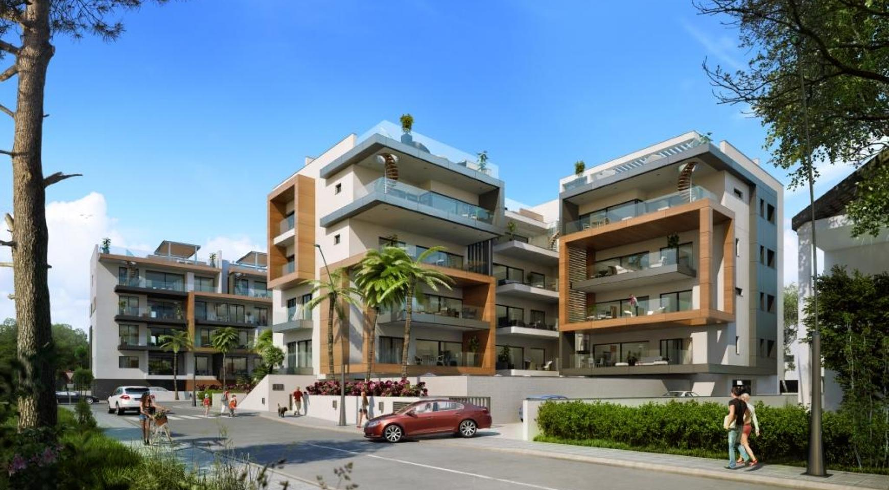 New Modern 3 Bedroom Apartment near the Sea - 2