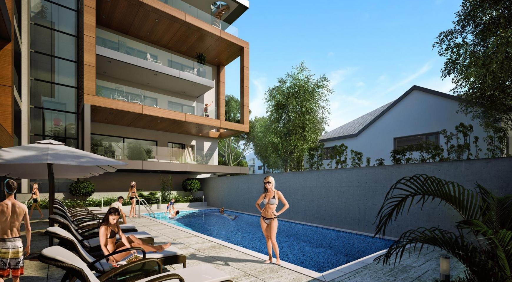 New Modern 3 Bedroom Apartment near the Sea - 7