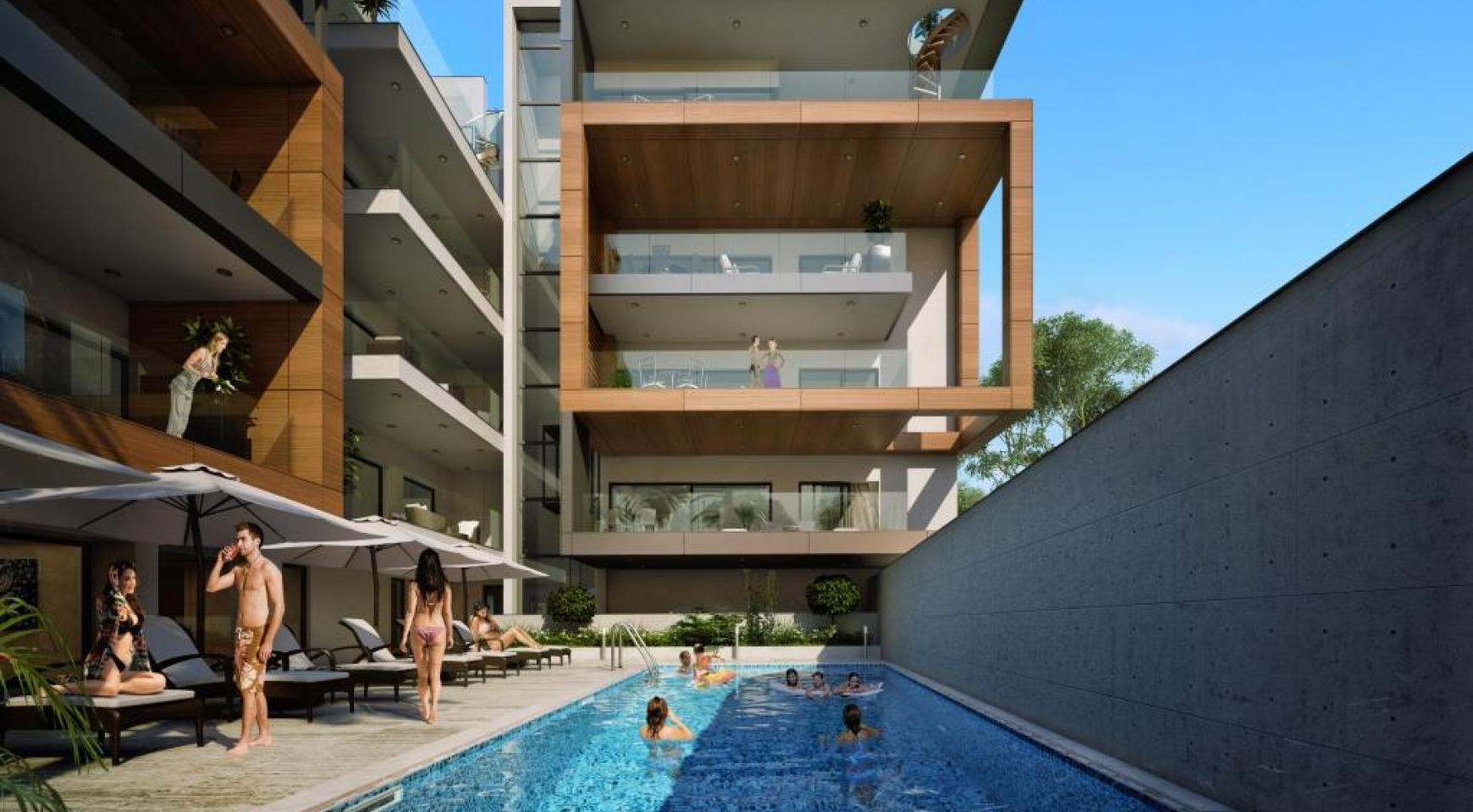 New Modern 3 Bedroom Apartment near the Sea - 5