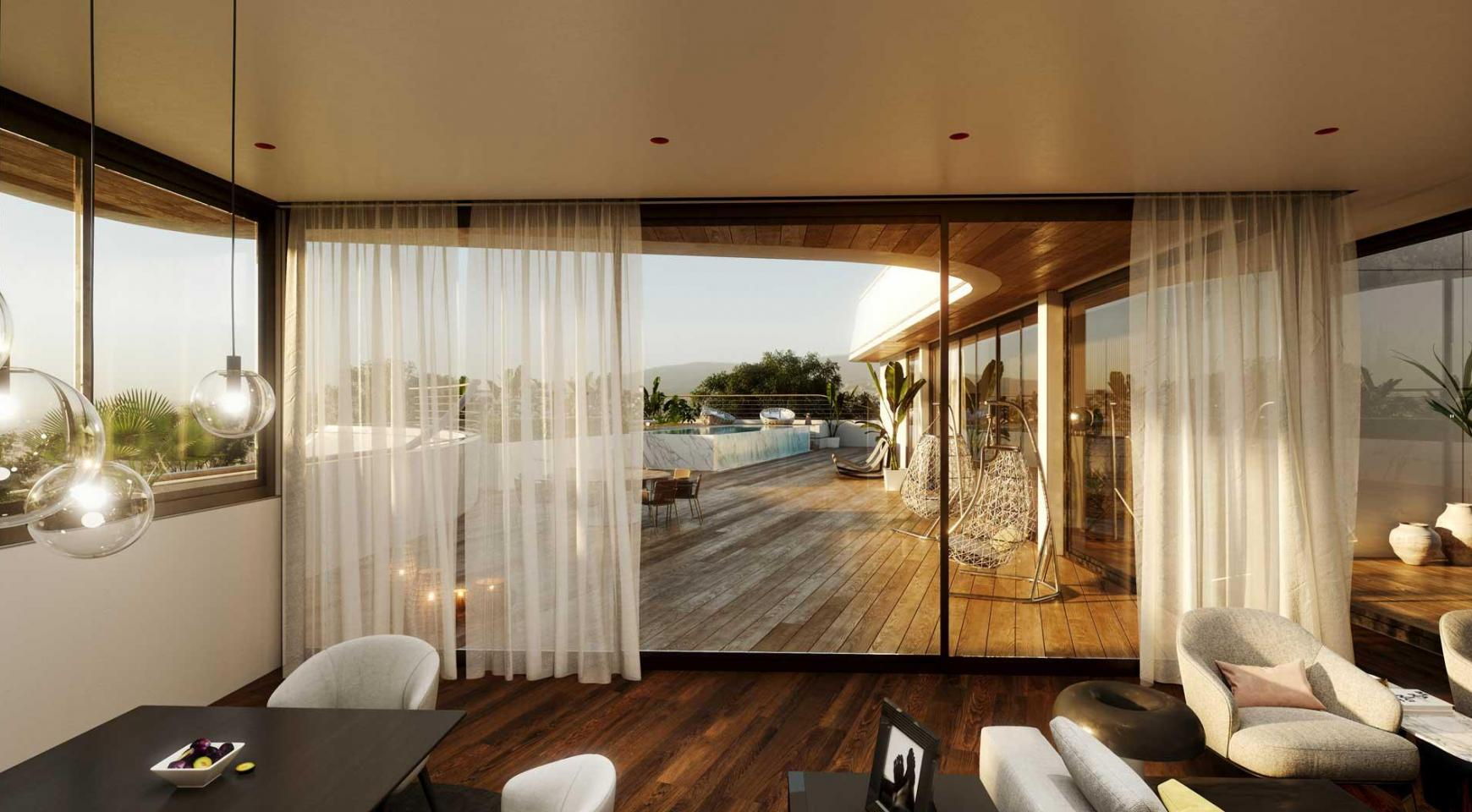New 3 Bedroom Townhouse within a Contemporary Complex in Potamos Germasogeia Area  - 16