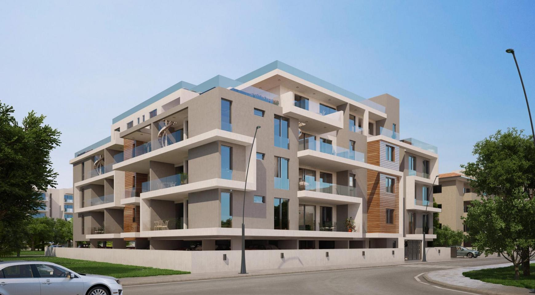 Contemporary 2 Bedroom Apartment in a New Complex near the Sea - 2