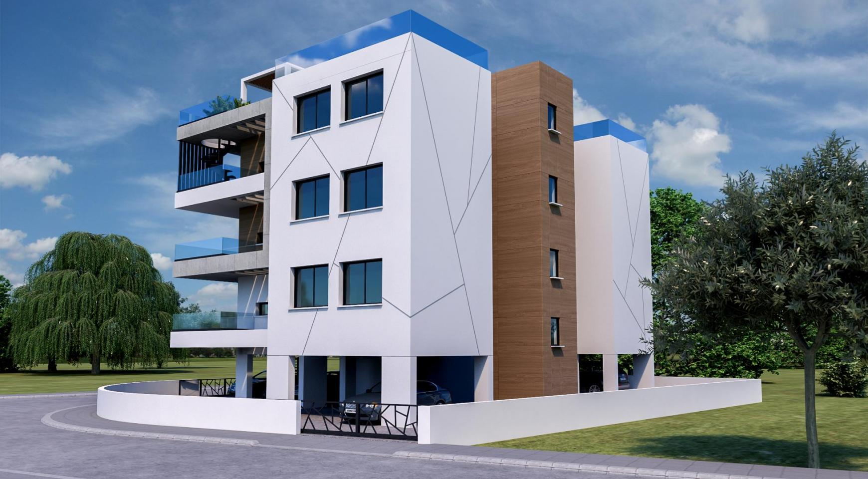 Modern Residential Building of 6 Apartments in Zakaki Area - 8