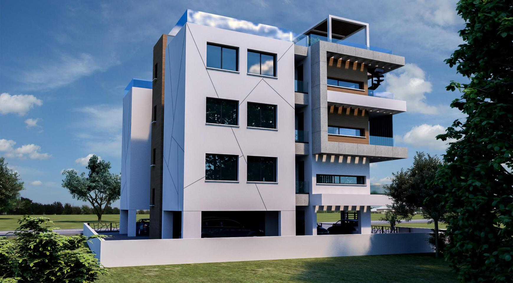 Modern Residential Building of 6 Apartments in Zakaki Area - 6