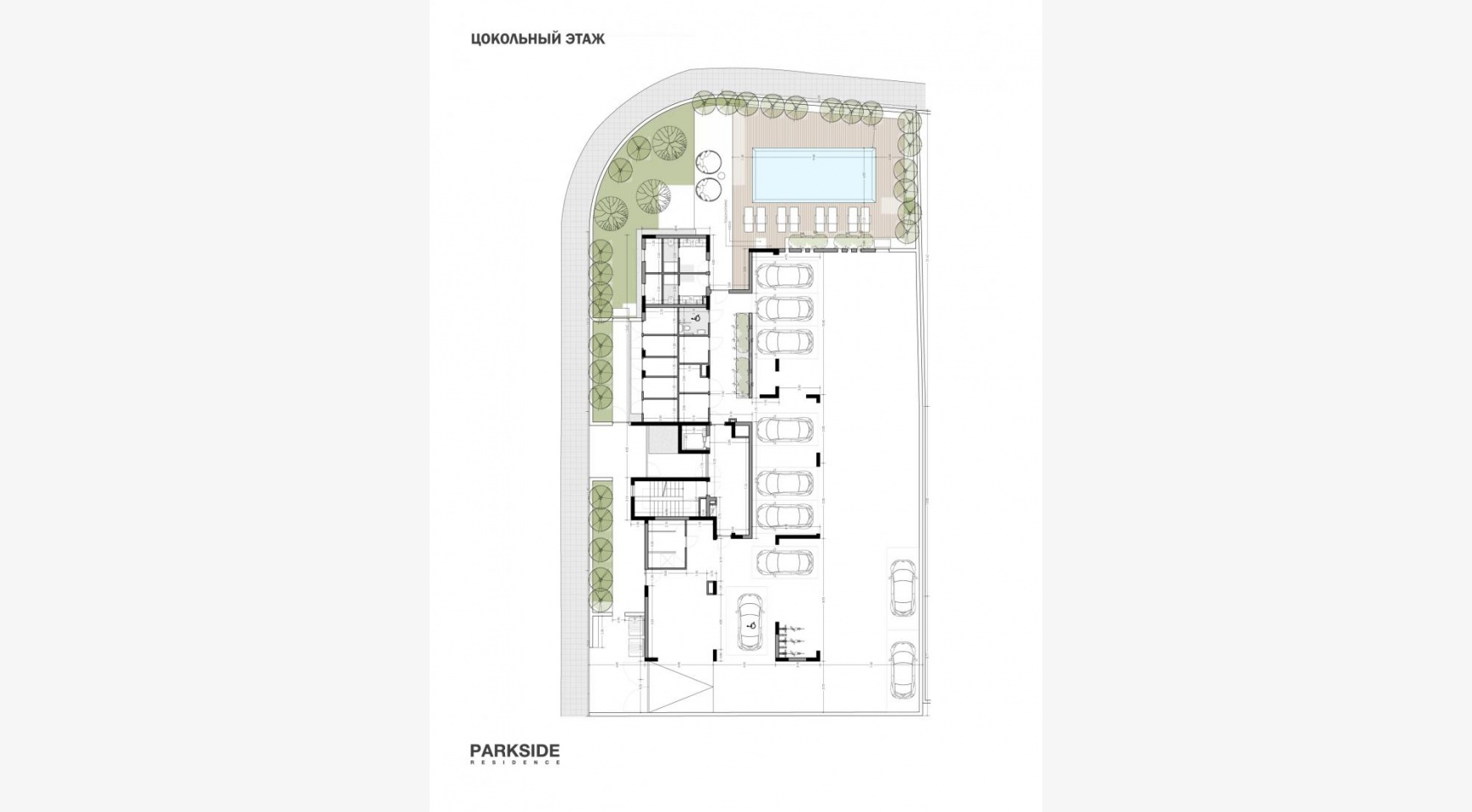 Parkside Residence, Apt. 103. 3 Bedroom Apartment within a New Complex in the Tourist Area - 11