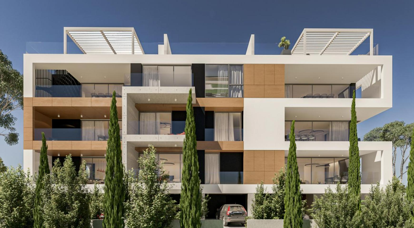 Parkside Residence, Apt. 202. 3 Bedroom Apartment within a New Complex in the Tourist Area - 2