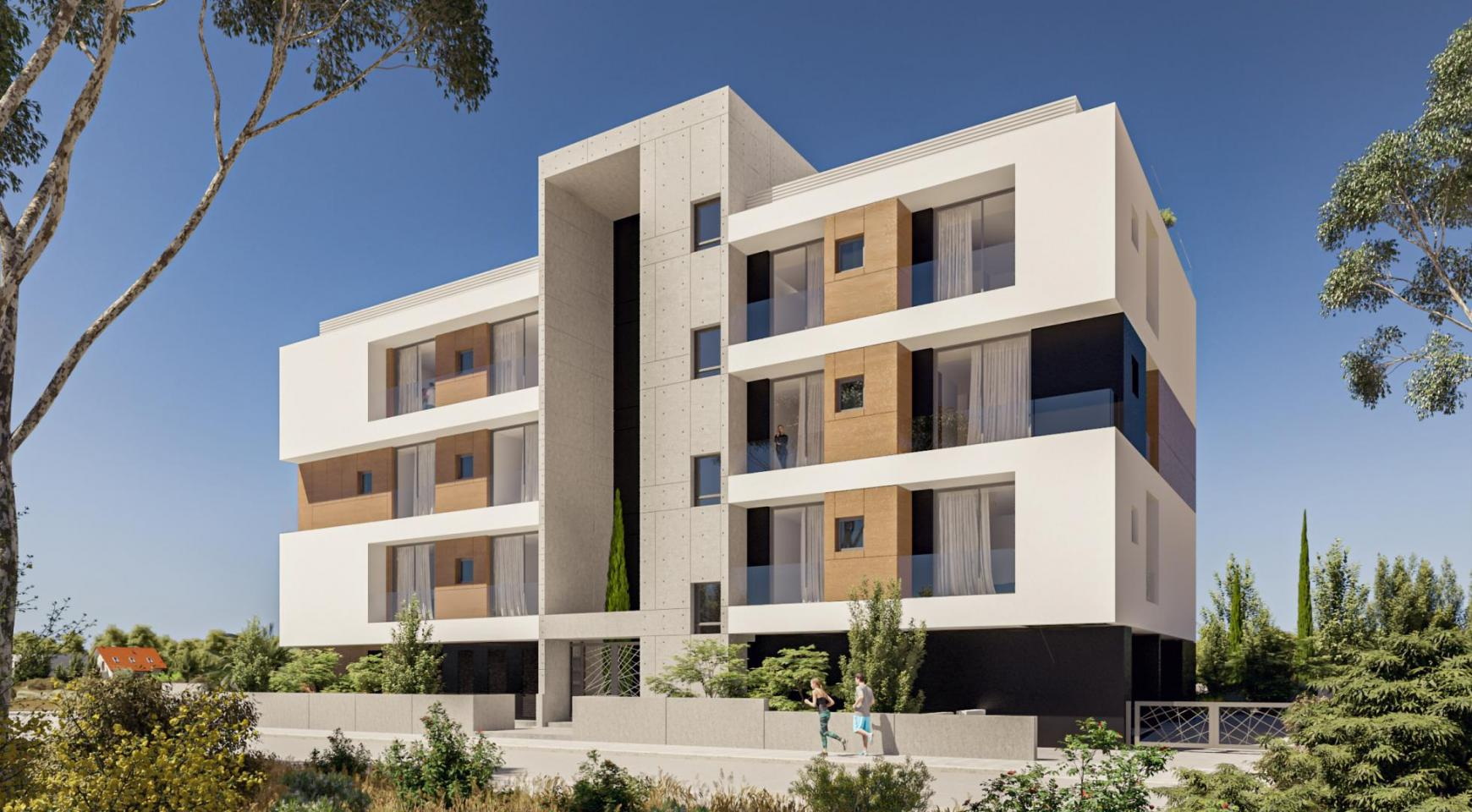 Parkside Residence, Apt. 202. 3 Bedroom Apartment within a New Complex in the Tourist Area - 4