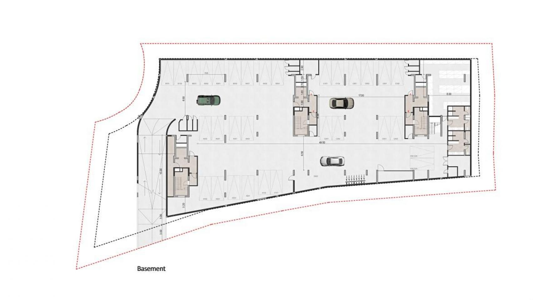 Urban City Residences, B 201. 3 Bedroom Apartment within a New Complex in the City Centre - 44